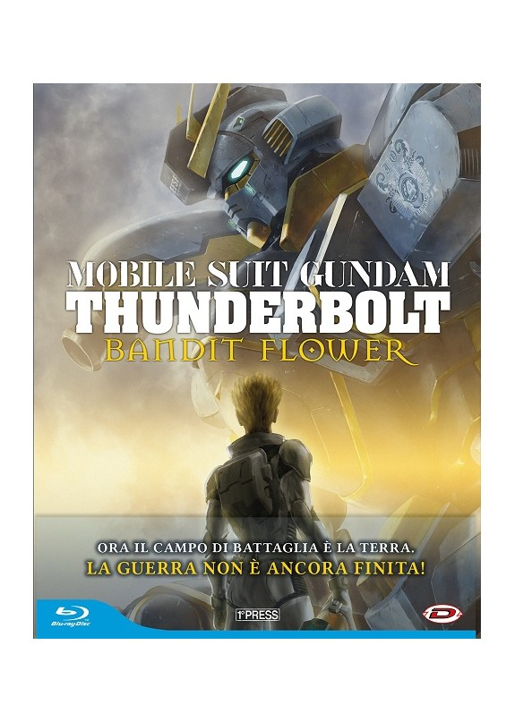 Mobile Suit Gundam Thunderbolt The Movie - Bandit Flower (First Press) Blu-Ray