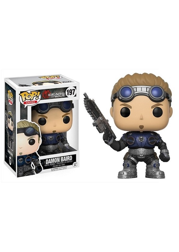 GEARS OF WARS DAMON BAIRD  FUNKO POP #197