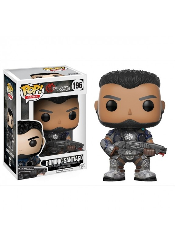 GEARS OF WARS DOMINIC SANTIAGO  FUNKO POP #204