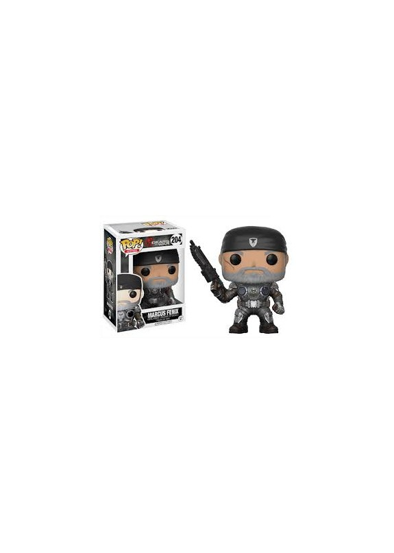 GEARS OF WARS MARCUS FENIX  FUNKO POP #204