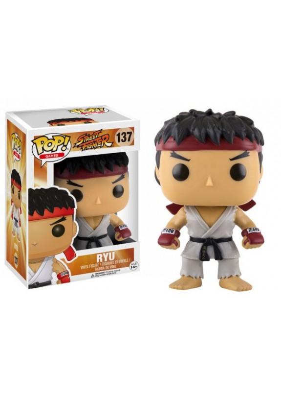 STREET FIGHTER RYU FUNKO POP #137