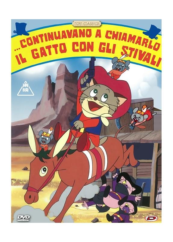 Continuavano A Chiamarlo Il Gatto Con Gli Stivali  DVD