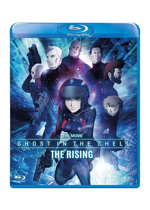 GHOST IN THE SHELL THE RISING (THE MOVIE) BLU-RAY