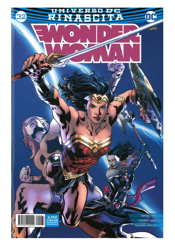 WONDER WOMAN RINASCITA N.32 / WONDER WOMAN N.64