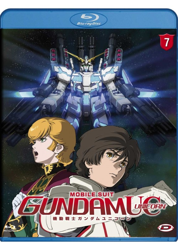 MOBIL SUIT GUNDAM UNICORN N.7 BLU-RAY