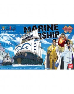 ONE PIECE MARINE WARSHIP GRAND SHIP COLLECTION PLASTIC KIT