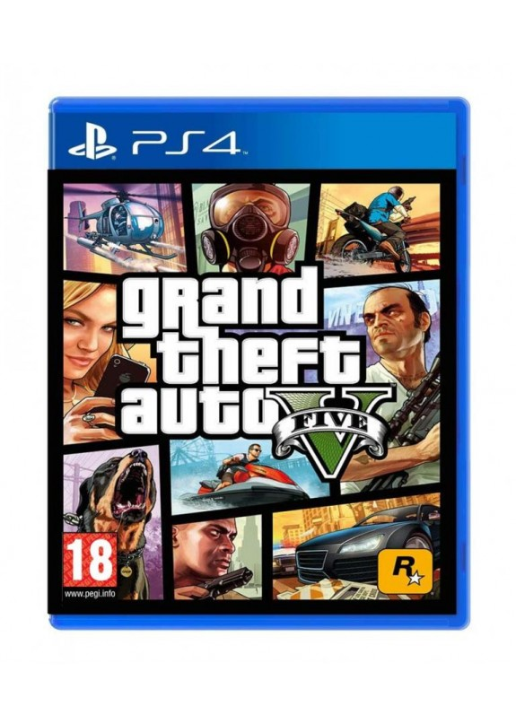 GRAND THEFT AUTO V - GTA V -  PS4