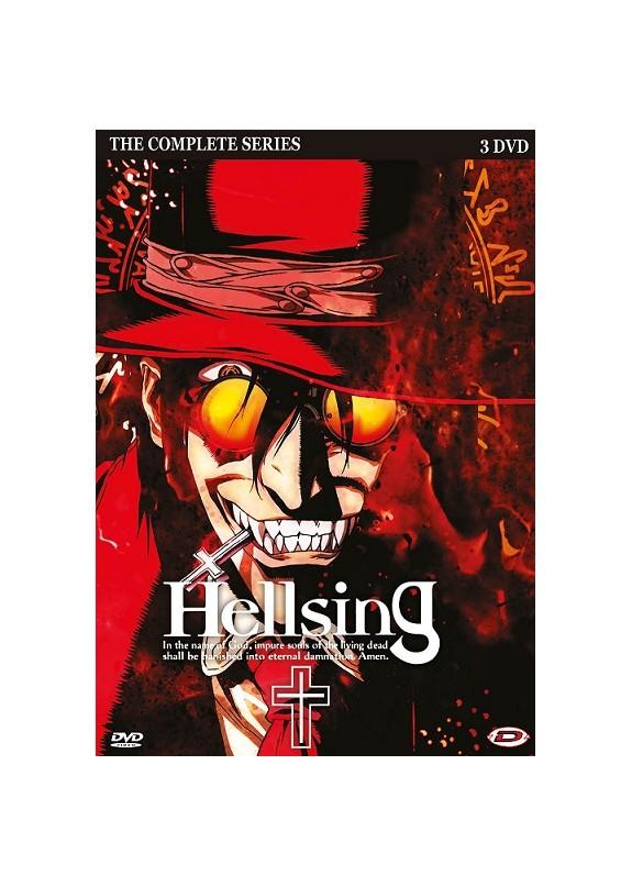 HELLSING SERIE COMPLETA (EP.1-13) DVD