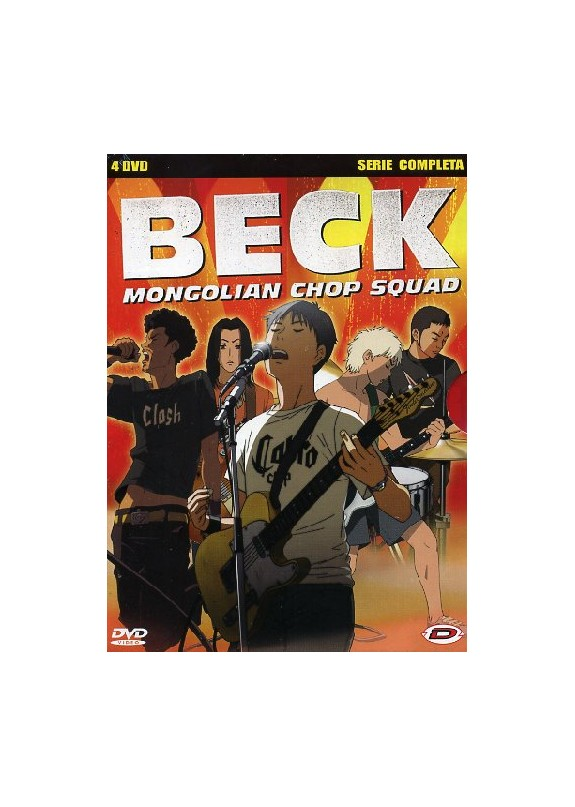 BECK MONGOLIAN CHOP SQUAD (Serie completa) (4 dvd)