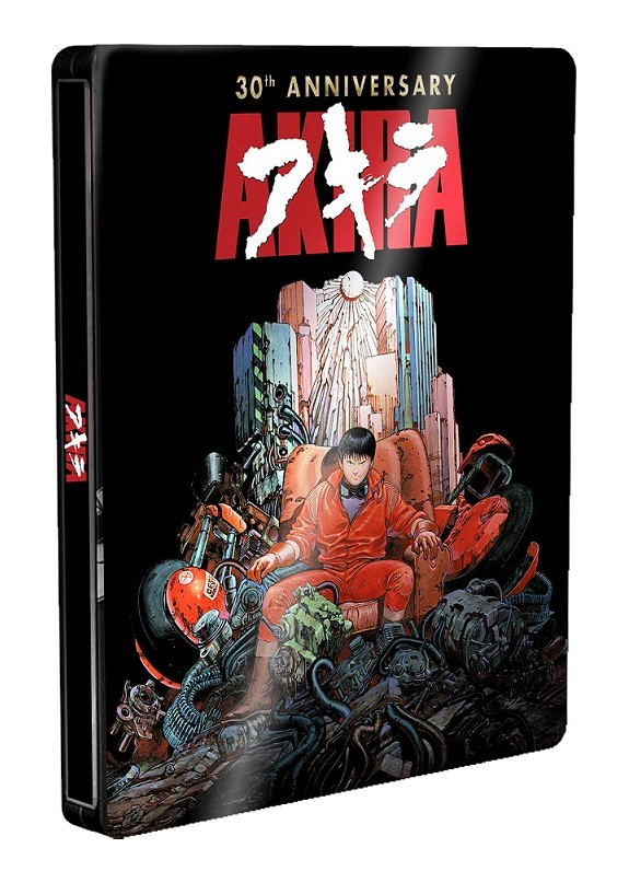 Akira - 30Th Anniversary Edition Steelbook (Blu-Ray+Dvd)