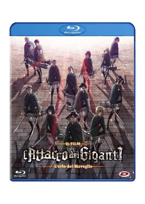 Attacco Dei Giganti (L') Il Film - L'Urlo Del Risveglio Blu-ray