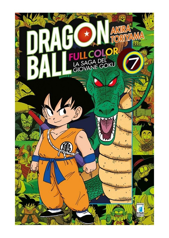 DRAGON BALL FULL COLOR N.7 - LA SAGA DEL GIOVANE GOKU N.7