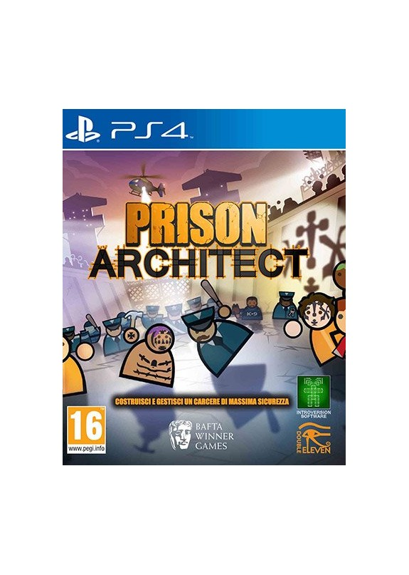 PRISON ARCHITECT  PS4  usato