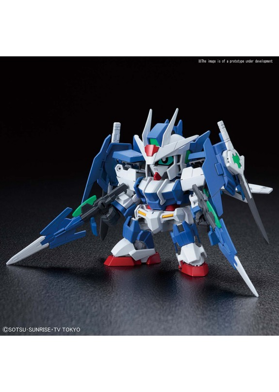 SD CROSS SILHOUETTE GUNDAM 00 DIVER ACE MODEL KIT