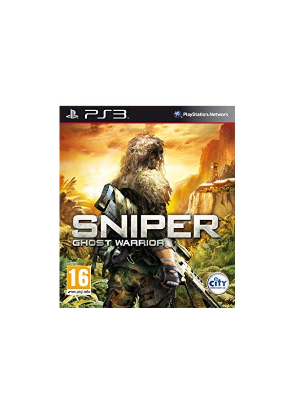 SNIPER GHOST WARRIOR PS3 usato