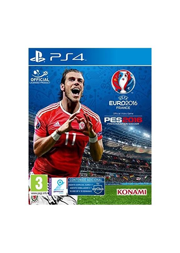 EURO FRANCE 2016 PES 2016  PS4 usato