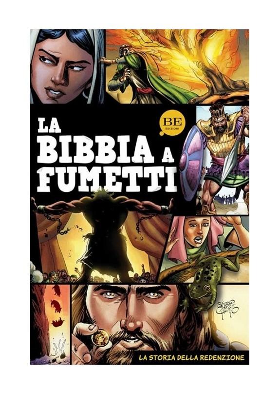 LA BIBBIA A FUMETTI - LA STORIA DELLA REDENZIONE (VOLUME UNICO)