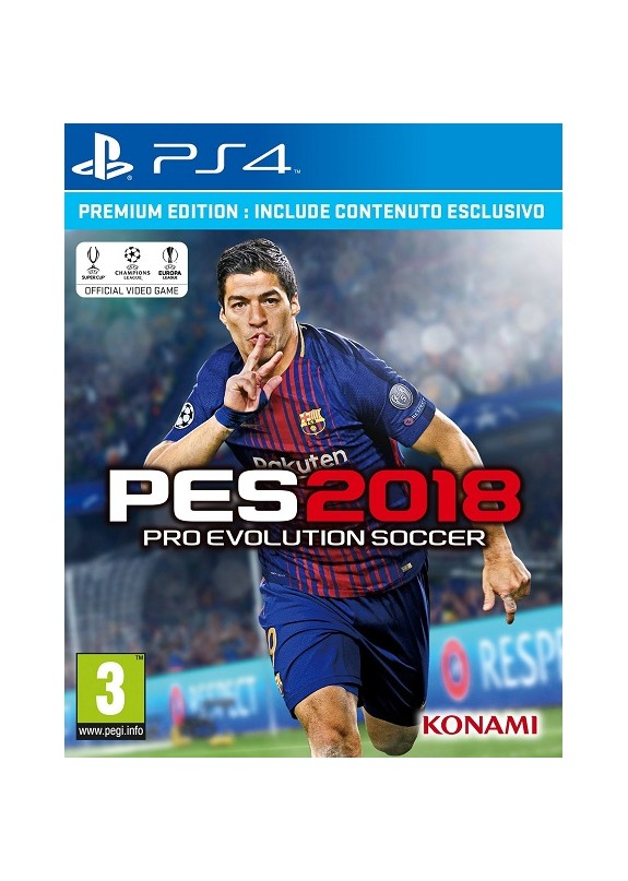 PRO EVOLUTION SOCCER PES 2018 PREMIUM EDITION PS4  usato