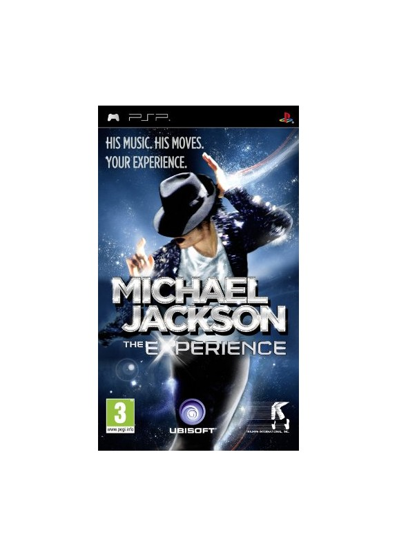 MICHAEL JACKSON THE EXPERIENCE  PSP  usato