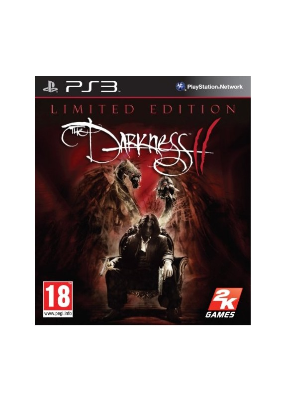 THE DARKNESS 2 LIMITED PREORDED ED.  PS3 usato