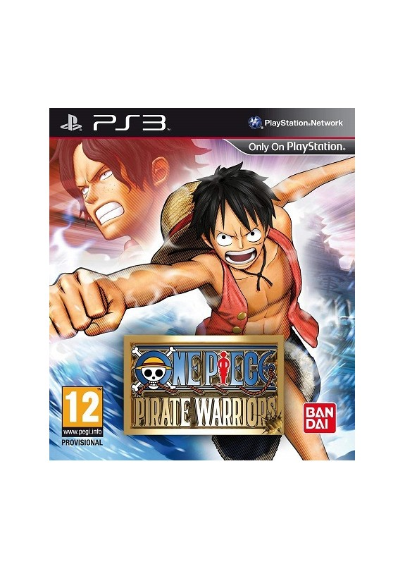ONE PIECE PIRATE WARRIORS PS3 usato