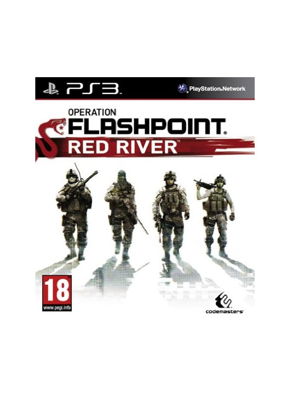OPERATION FLASHPOINT RED RIVER  PS3  usato