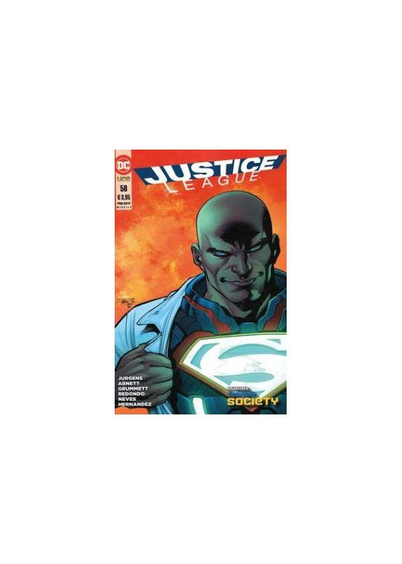 JUSTICE LEAGUE N.58