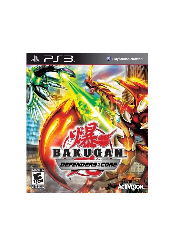 BAKUGAN defenders of the core  PS3  usato