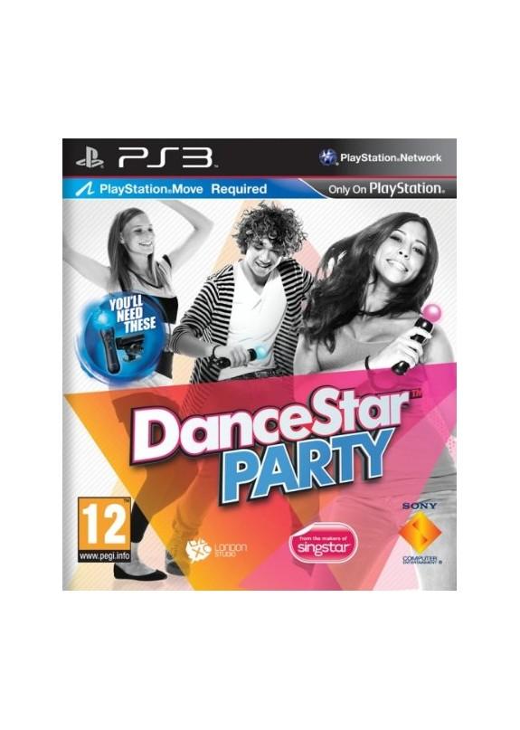 DANCESTAR PARTY PS3  usato