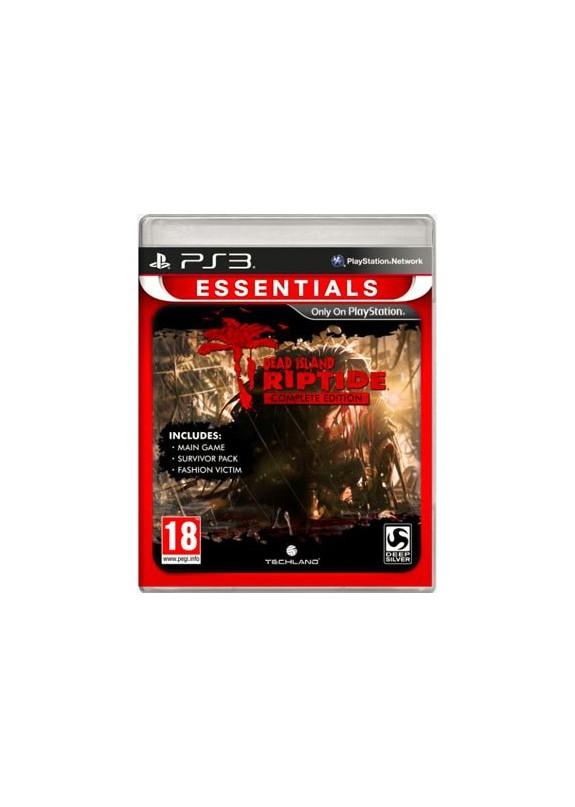 DEADISLAND RIPTIDE PS3  usato