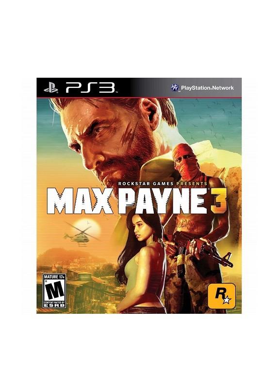 MAX PAYNE 3 PS3  usato