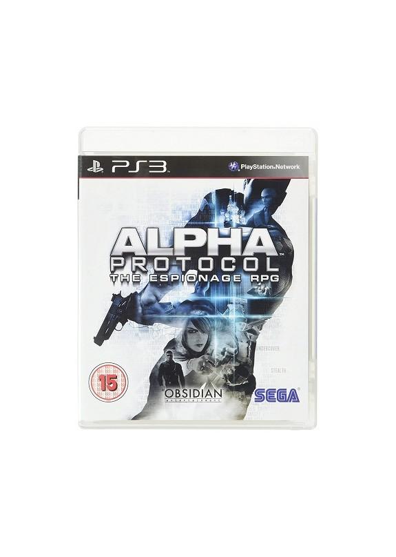 ALPHA PROTOCOL  PS3  usato