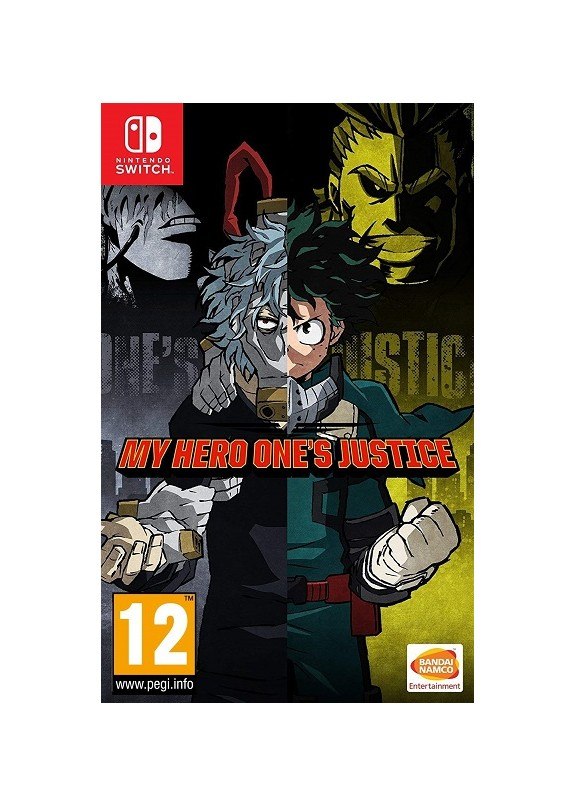 MY HERO ONE'S JUSTICE  NINTENDO SWITCH