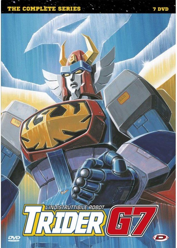 L'INDISTRUTTIBILE ROBOT TRIDER G7 - THE COMPLETE SERIES (7 DVD)