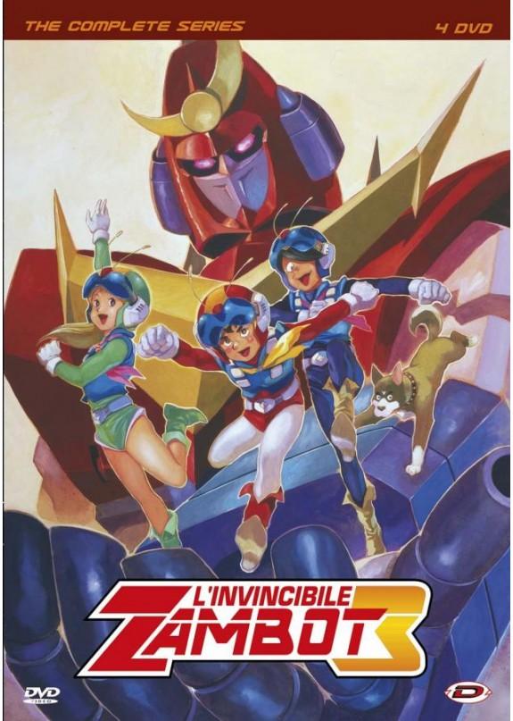 L'INVINCIBILE ZAMBOT 3  SERIE COMPLETA  DVD