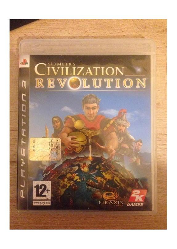 CIVILIZATION REVOLUTION  PS3  usato