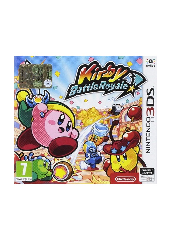 KIRBY BATTLE ROYALE  3DS  usato