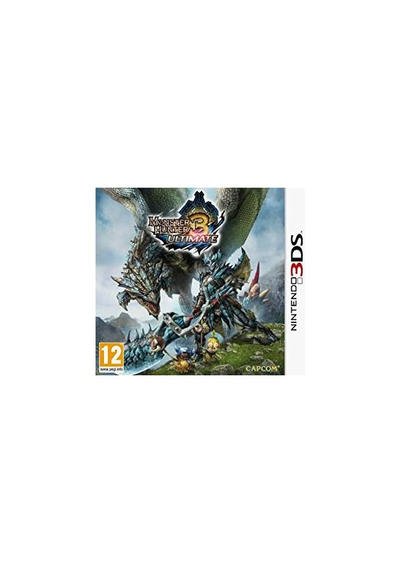 MONSTER HUNTER 3 ULTIMATE  NINTENDO 3DS  usato