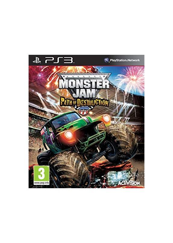 MONSTER JAM PATH OF DESTRUCTION  PS3  usato