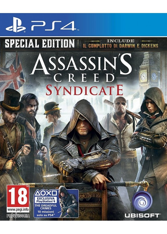 ASSASSIN'S CREED SYNDICATE PS4  usato