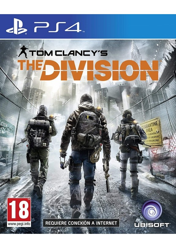 THE DIVISION  PS4  usato