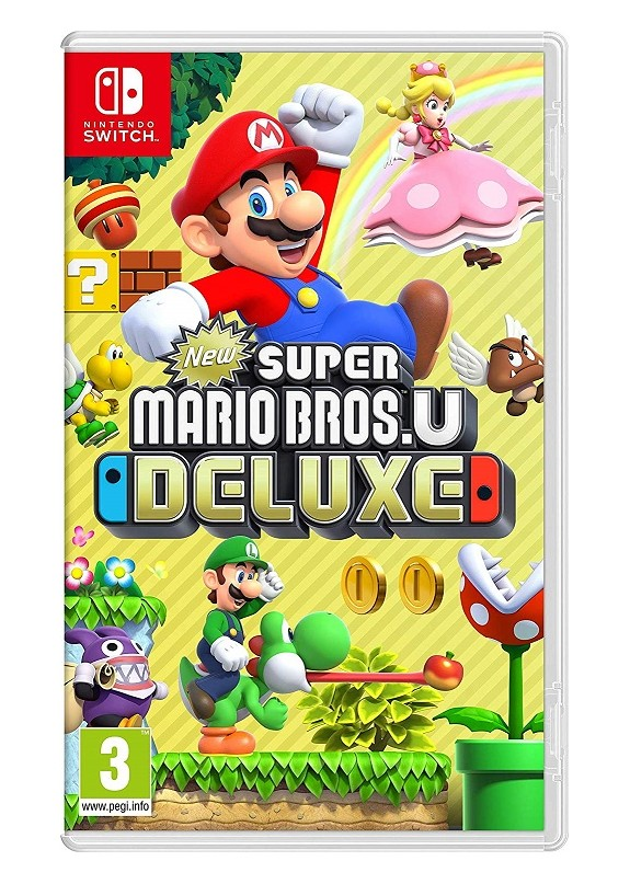 NEW SUPER MARIO BROS.U DELUXE  NINTENDO SWITCH
