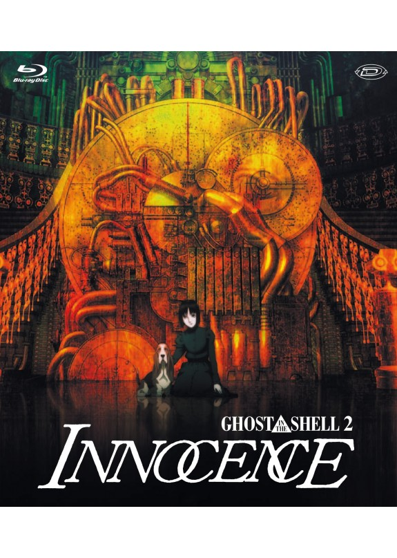 GHOST IN THE SHELL 2 INNOCENCE  BLU-RAY