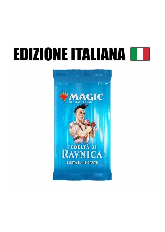 MAGIC FEDELTA' DI RAVNICA BUSTINA 15 CARTE