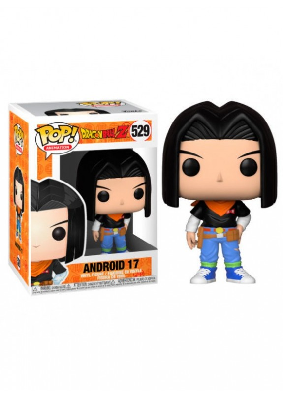 DRAGON BALL Z ANDROID 17  FUNKO POP #529