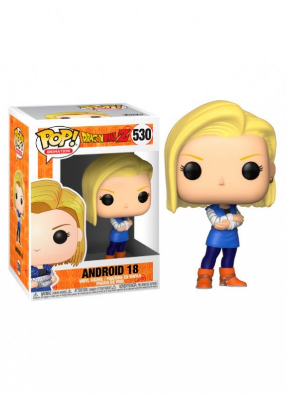 DRAGON BALL Z ANDROID 18  FUNKO POP #530