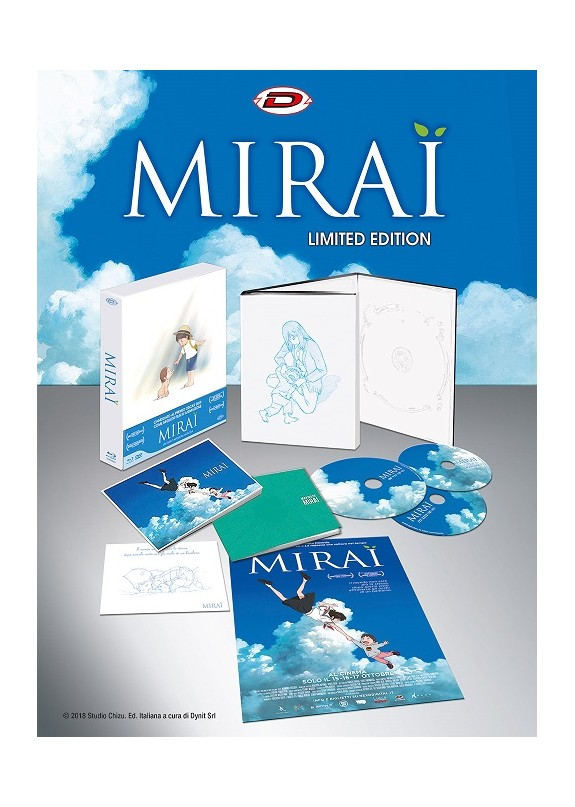 Mirai (Limited Edition Digipack Box) (2 Blu-Ray+Dvd+2 Booklet+Card+Poster)