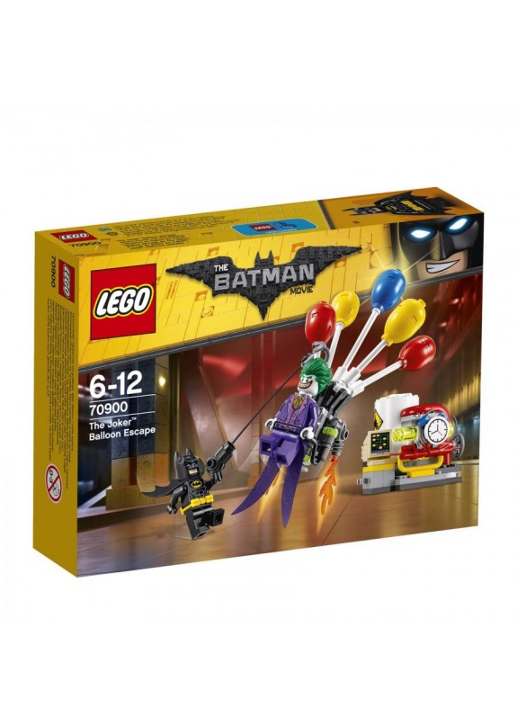 LEGO BATMAN THE MOVIE FUGA CON I PALLONCINI DI JOKER  70900