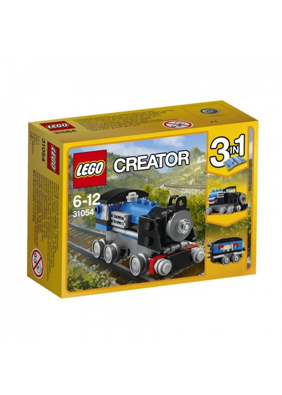 LEGO CREATOR  LOCOMOTIVA BLU  31054