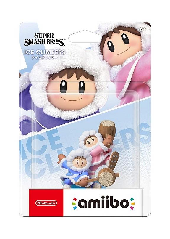 AMIIBO SUPER SMASH BROS ULTIMATE ICE CLIMBER N.68